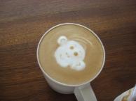 aap in de koffie